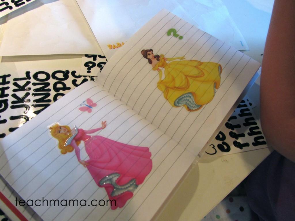 homemade disney autograph books | teachmama.com