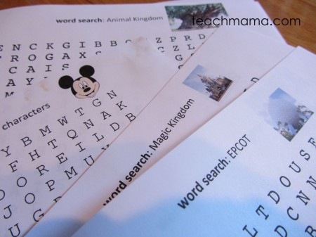 disney word search | teachmama.com