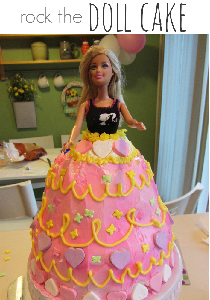 How To Make A Doll Cake Other Sweet Fairy Party Treats