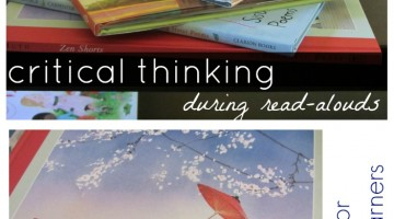 learning during read-alouds: critical thinking, new literacies