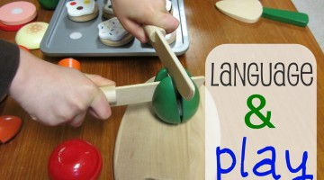 how to develop language through play