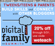 digital family summit: conference for tweens, teens, and parents (with full pass giveaway!)