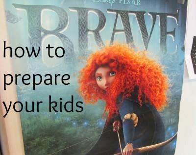 disney pixar's brave cover
