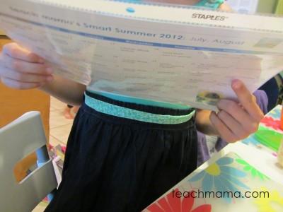 smart summer calendar 2012
