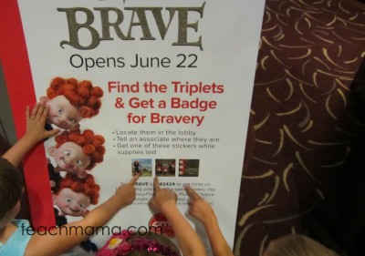 what to do before you see disney pixar's brave