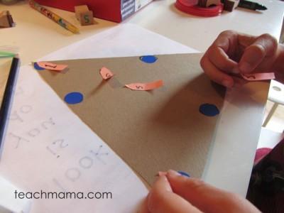 magic triangle math game