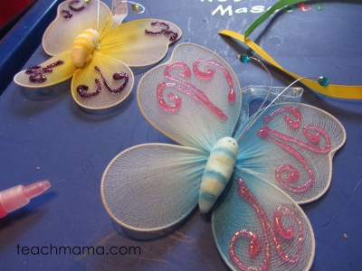 backpack butterflies