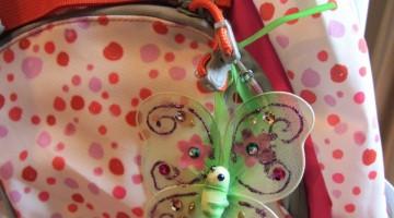 beautiful backpack butterflies