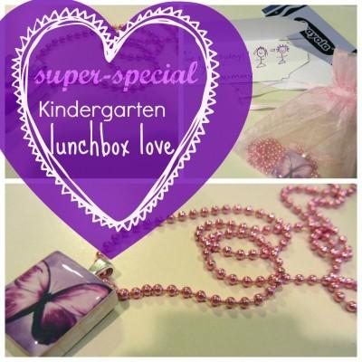 special kindergarten lunchbox love note
