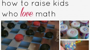 how to raise kids who love math