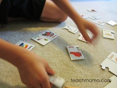 rhyme card games