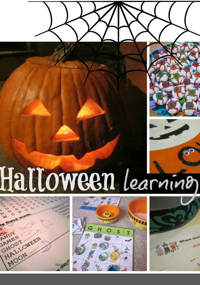 halloween learning