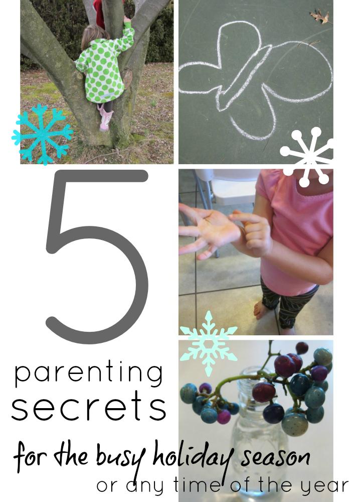 5 parenting secrets