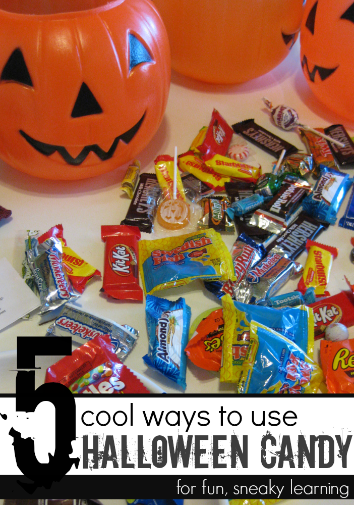 5 ways to use halloween candy cover