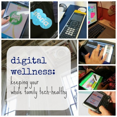 digital wellness: keeping your whole family tech-healthy