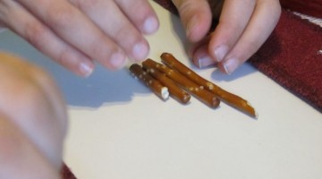 pretzel patterns: learning during snacktime