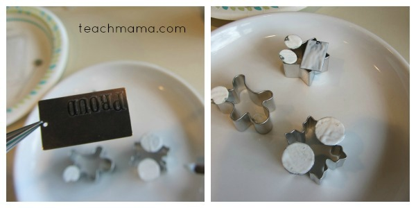 homemade name necklaces for girls and boys back side