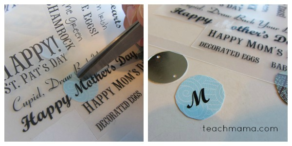 homemade name necklaces for girls and boys step 2