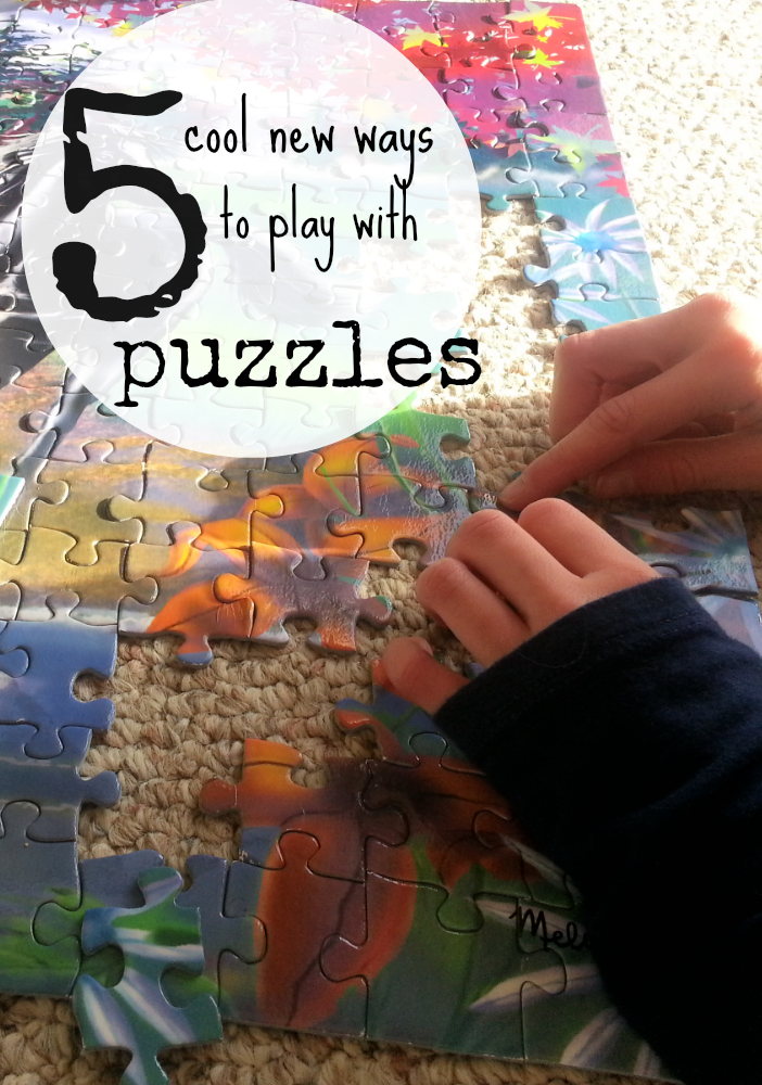 5 cool new ways to play with puzzles | teachmama.com