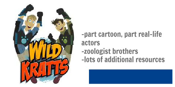 fave programs for 6-9 yo wild kratts