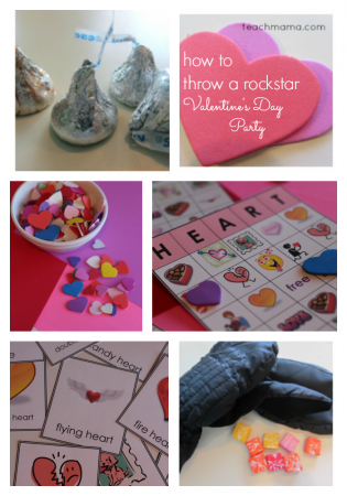 how to throw a rockstar valentine's day party | teachmama.com