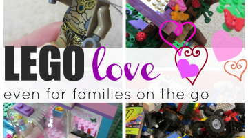LEGO love: even for families on the go