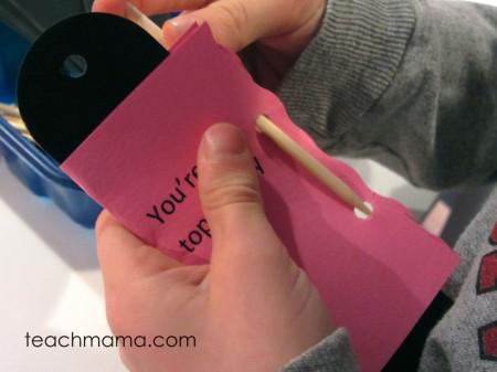 homemade bookmark valentines