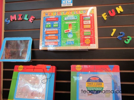 toy fair melissa & doug first calendar