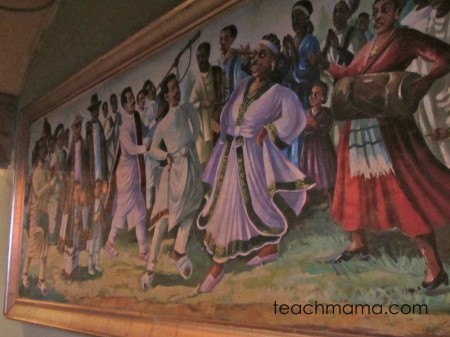 ethiopian with kids decor
