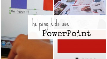 helping kids use PowerPoint for presentations and serious learning fun