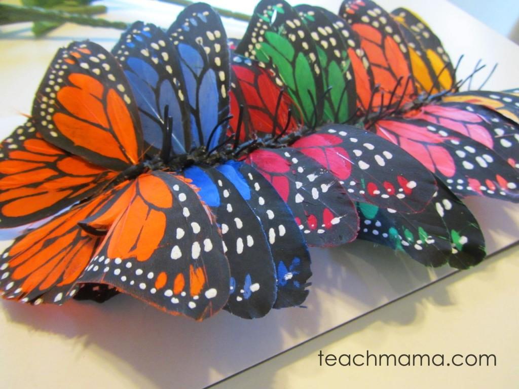 butterflies in a row