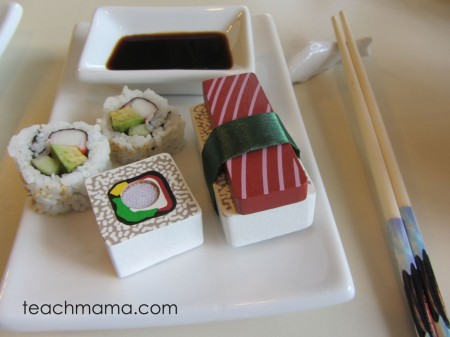 april fools family fun sushi