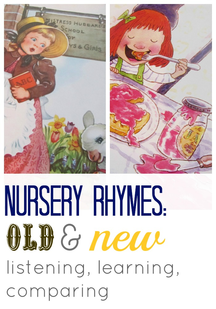 nursery rhyme old and new