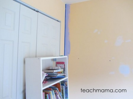 room re-do painting -big kid room