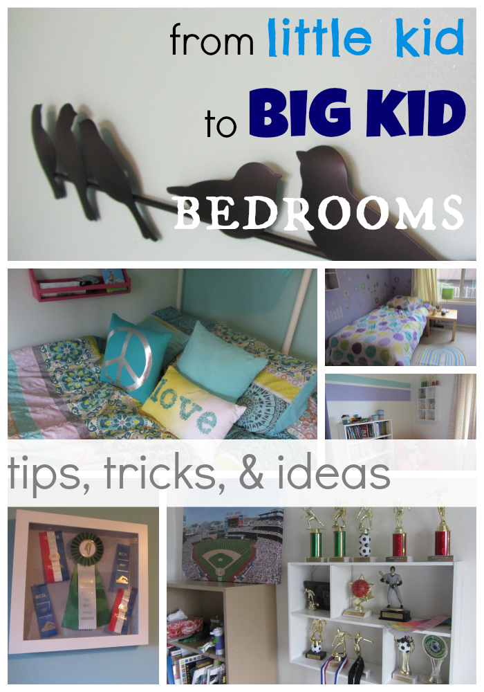 Room Redo Ideas how to move from little kid to big kid bedrooms (with tips from