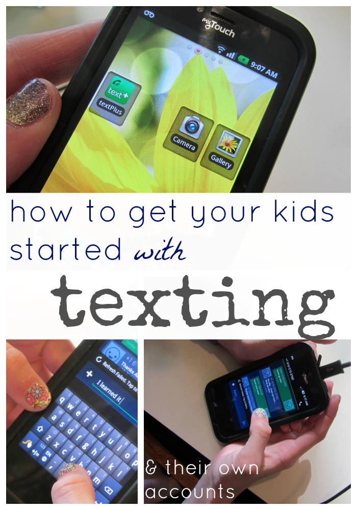 How to get your kids started with texting cover