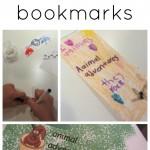 digital and hand drawn bookmark designs