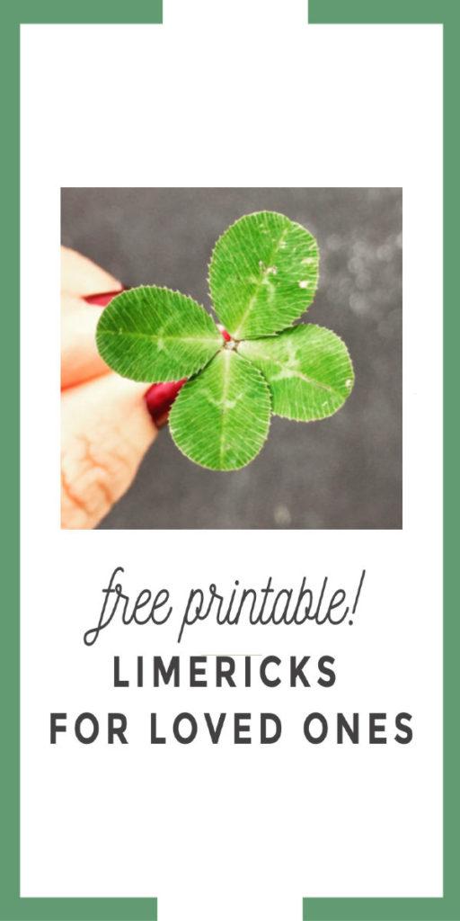 limericks for loved ones cover