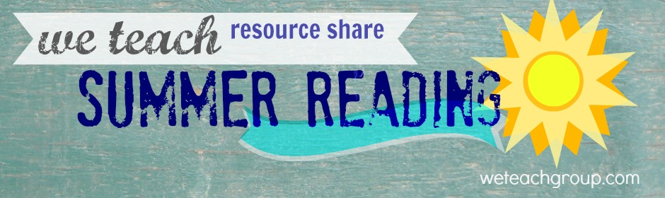 we teach summer reading resource share