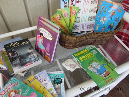 summer reading book swap