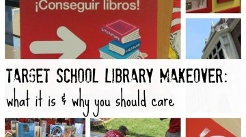 target school library makeover