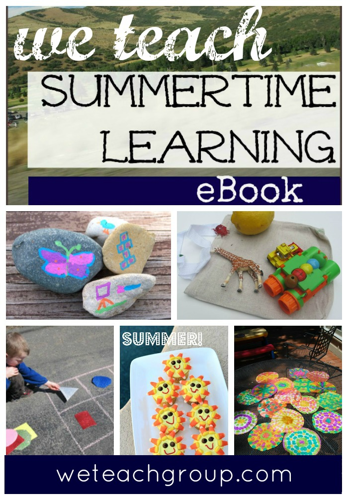 we teach summer ebook