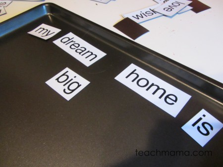 magnetic poetry tabletop surprise