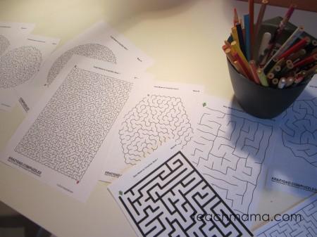 tabletop surprises mazes