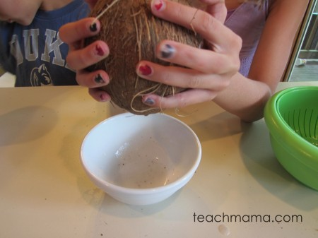 try something new -- coconut