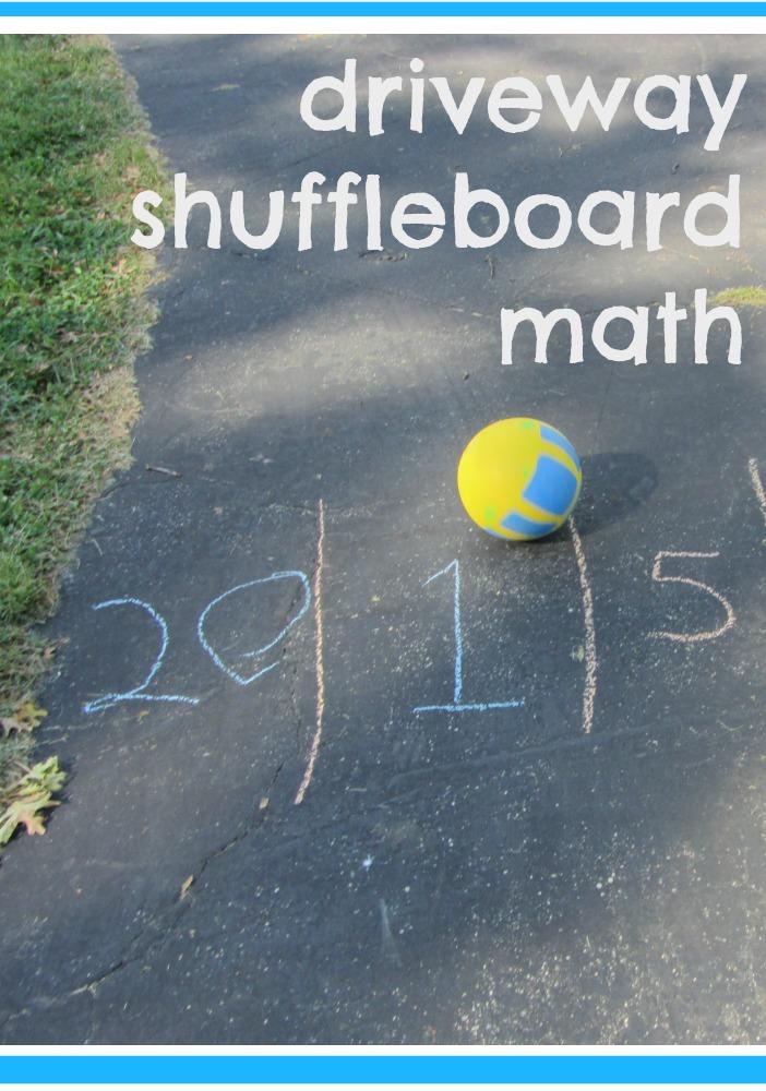 driveway shuffleboard math | teachmama.com