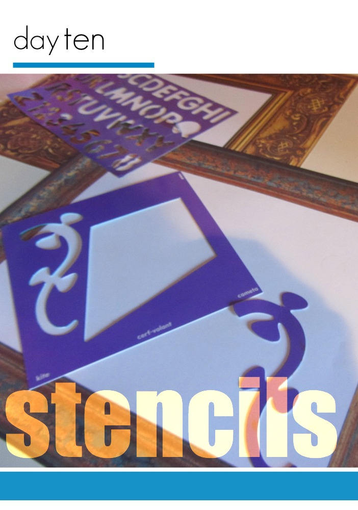 tabletop surprises day stencils