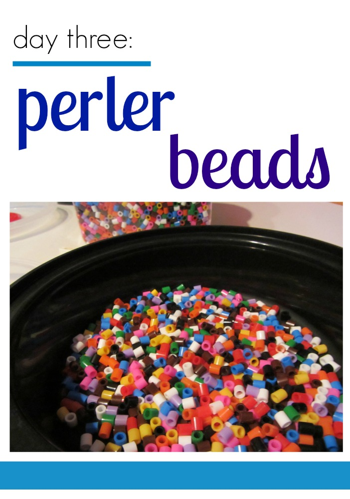 tabletop surprises perler beads cover