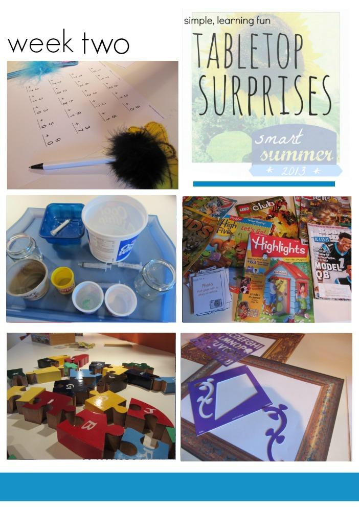 tabletop surprises week two