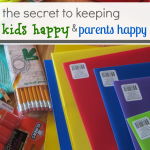 back to school : happy kids, happy parents